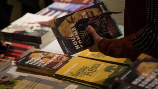 Le Salon du livre des Premières Nations a lieu du 22 au 25 novembre 2018 à Québec.