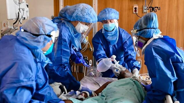 Les hôpitaux de la C.-B. sous pression en raison des non-vaccinés aux soins intensifs