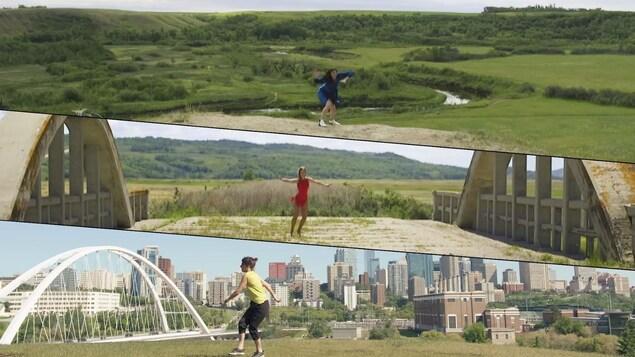 Capture d'écran de la vidéo « Danse ta vie ».