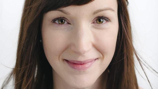 L'auteure Stéphanie Bourgault-Dallaire