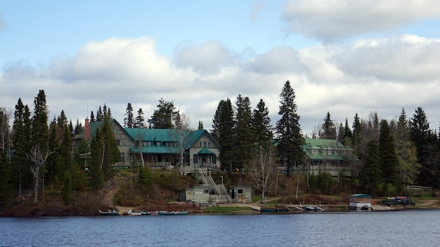 La Seigneurie du Triton à Lac-Édouard, un secteur de La Tuque.