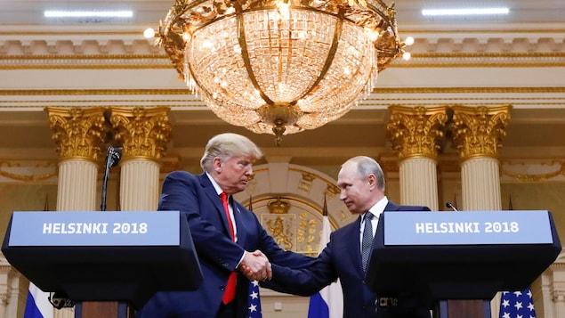 1.Place au sommet Trump-Poutine