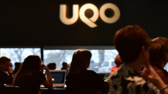 L'Université du Québec en Outaouais.