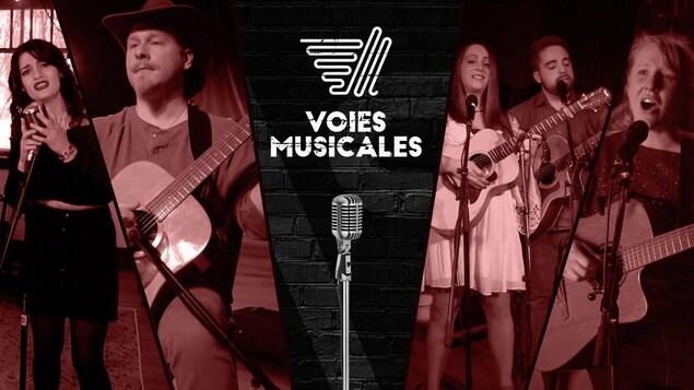 Les musiciens de Voies musicales.