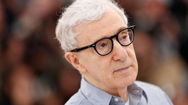 Portrait du réalisateur  Woody Allen.