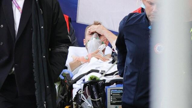 Le Danois Christian Eriksen victime d'un malaise à l'Euro