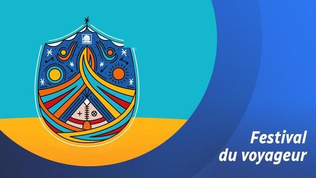 Couple de personnes effectuant la traite des fourrures dans l'Ouest canadien, aussi connus sous le nom de Voyageurs