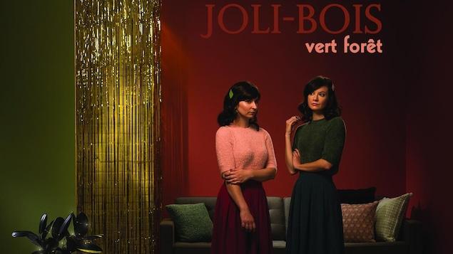 La pochette de l'album Vert forêt de Joli-Bois