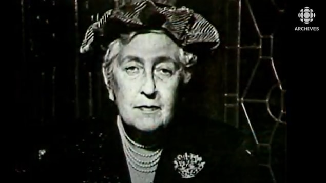 Photographie d'Agatha Christie