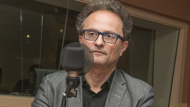 Christophe Savary au micro de Marie Grégoire