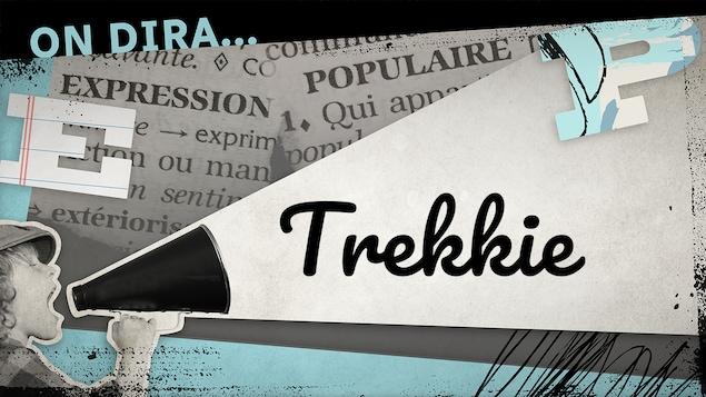 Désigne un grand adepte de la série télévisée américaine Star Trek.
