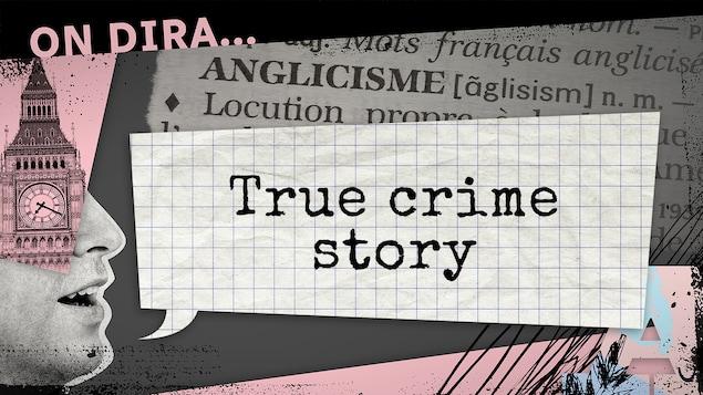 L'expression fait référence à des séries ou des films dont le scénario relate l'enquête derrière de vrais crimes.