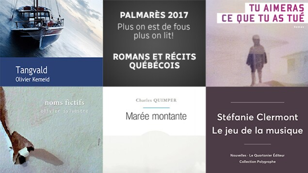 Quelques-uns des meilleurs romans québécois de l'année 2017 selon l'équipe de <em>Plus on est de fous, plus on lit!</em>
