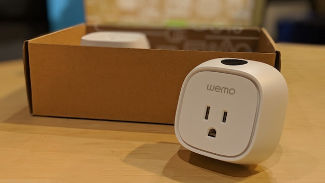 Prise de courant intelligente Wemo Insight.