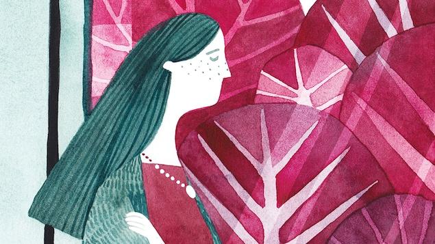 Couverture du livre Une histoire de cancer qui finit bien écrit par India Desjardins et illustré par Marianne Ferrer.