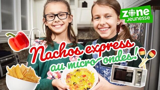 Elles cuisinent des nachos