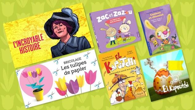 Si je mets les mots « chocolat », « œufs », « lapins » et « tulipes » dans la même phrase, vous pensez à quelle fête reconnue? Eh oui, Pâques! Voici des idées pour occuper agréablement le congé.