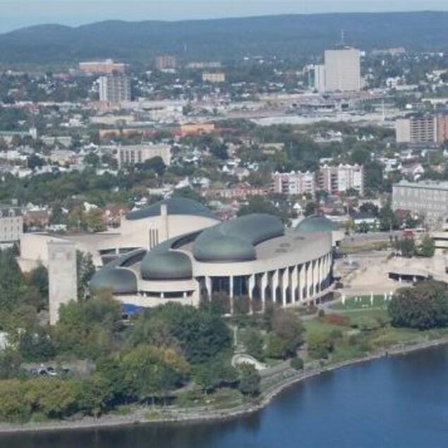 Vue du Musée canadien de l'Histoire