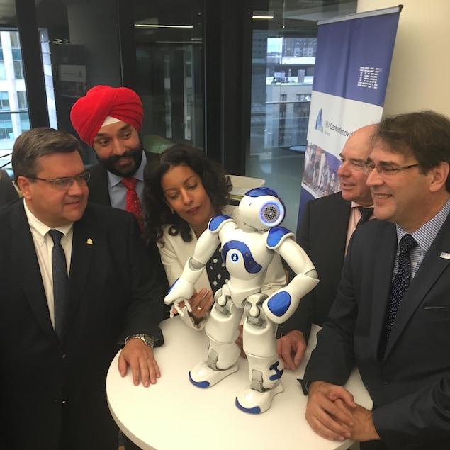 IBM veut quadrupler la taille de son centre d'innovation client montréalais