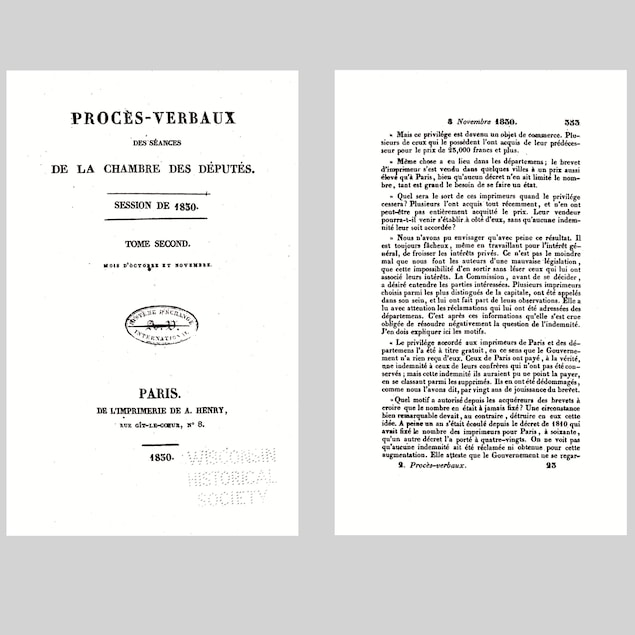 Une page de livre calcinée