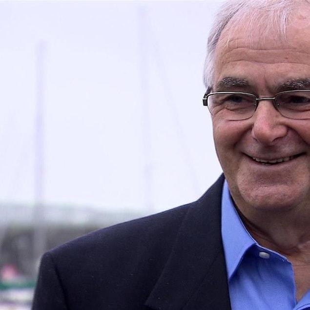 Berchmans Boudreau, maire de Havre-Saint-Pierre