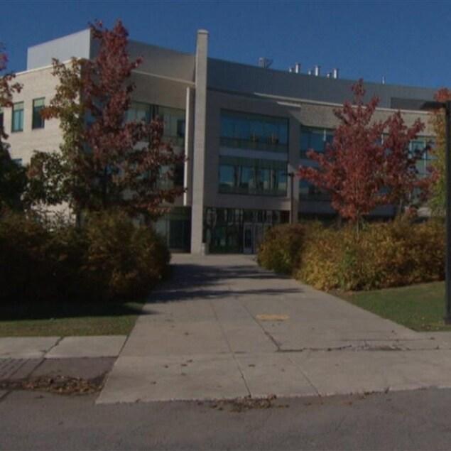 La façade de la Cité collégiale à Ottawa.