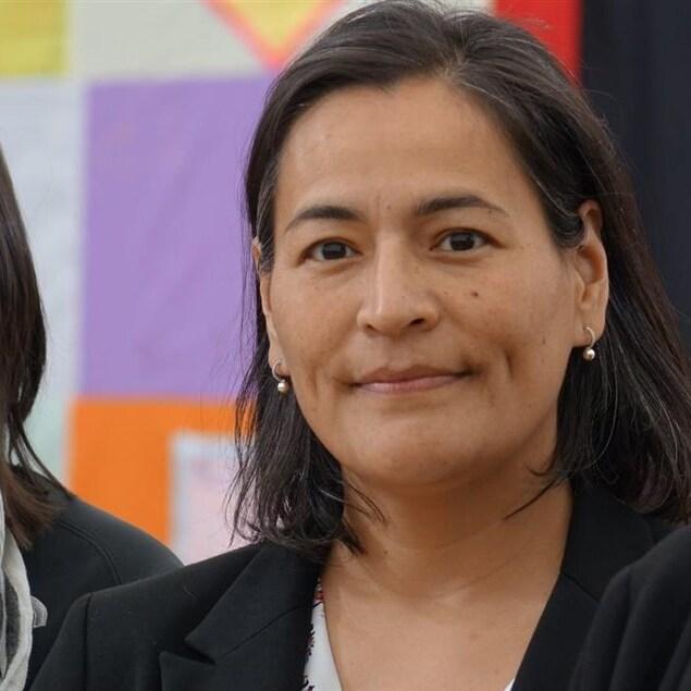 Michèle Audette, commissaire à l'Enquête nationale sur les femmes et les filles autochtones disparues et assassinées.