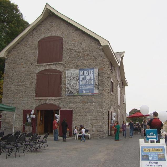 La façade extérieur du Musée Bytown