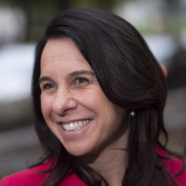 La nouvelle mairesse de Montréal Valérie Plante