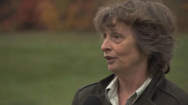 Arlette Fortin, candidate à la mairie de Sainte-Madeleine-de-Rivière-Madeleine
