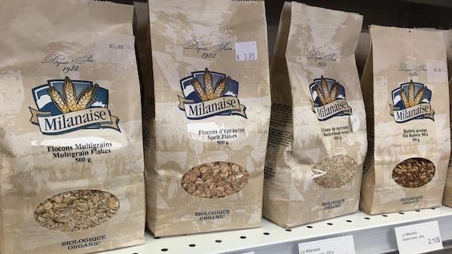 Le Multi-Marché du Nord, une épicerie spécialisée dans les produits sans gluten.