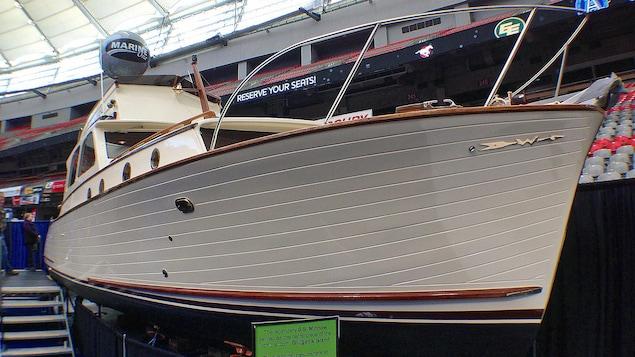 Le SS Minnow, au salon nautique de Vancouver en 2014