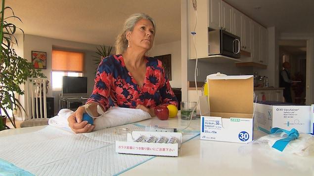 Nancy Roch retournera s'il le faut au Japon se procurer le médicament à fort prix s'il n'est pas approuvé bientôt au Canada.