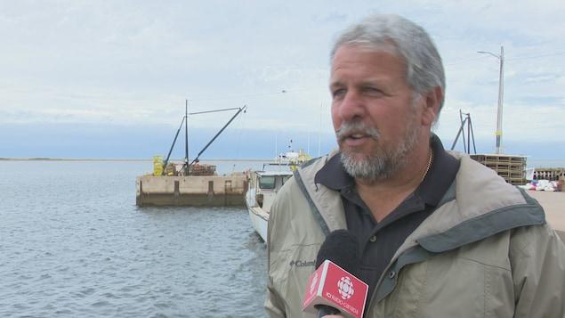 Paul Gallant, pêcheur de homard d'Abram-Village