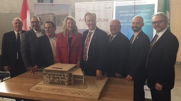 Pierre Zundel, Glenn Thibeault, Marc Serré, Mélanie Joly, Paul Lefebvre, Brian Bigger, Martin Lajeunesse, Stéphane Gauthier