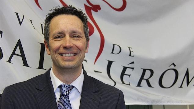 Stéphane Maher, maire de Saint-Jérôme