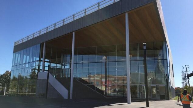 La nouvelle salle de spectacle, le Théâtre Gilles-Vigneault, à Saint-Jérôme.