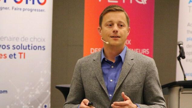 Tom Cochran, directeur numérique de l'administration Obama, en conférence à Québec
