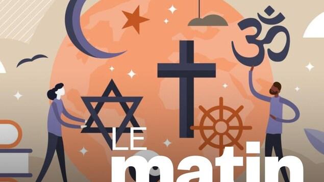 Illustration de plusieurs religions