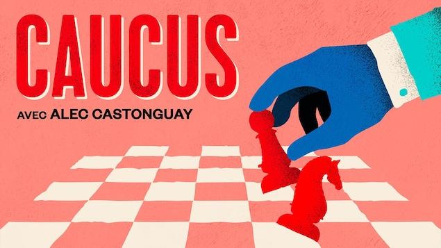 Caucus, un balado politique coanimé par Michel C.Auger et Manon Globensky