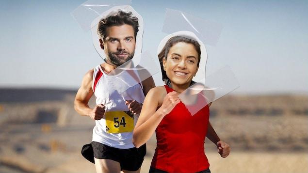 Jean-Philippe Wauthier et Alexandra Diaz.