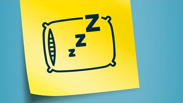 Illustration d'un oreiller.