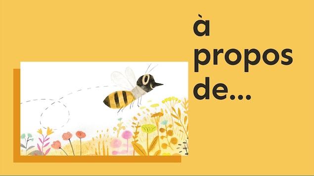 L'abeille à miel, du balado <i>À propos de...</i>