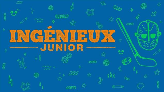 L'épisode 8, Le masque de hockey, du balado <i>Ingénieux junior</i>.