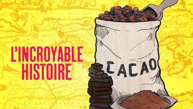 Le chocolat, l'épisode 5 du balado <i>L'incroyable histoire.</i>