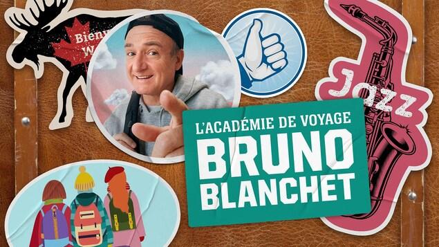 <i>Les premiers, mais pas les derniers</i>, du balado <i>L'académie de voyage de Bruno Blanchet</i>.