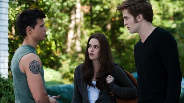 Une image tirée du film Twilight.