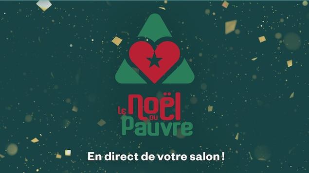 Logo du téléthon Le Noël du Pauvre