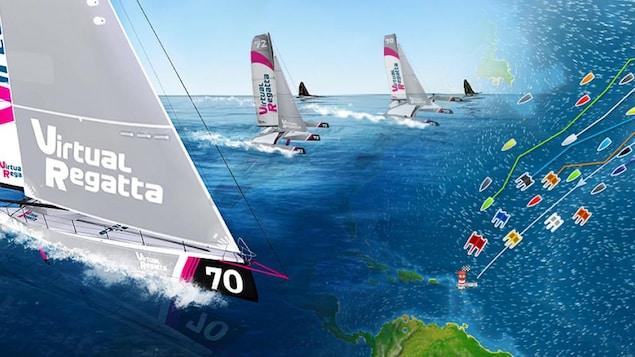 la course virtuelle