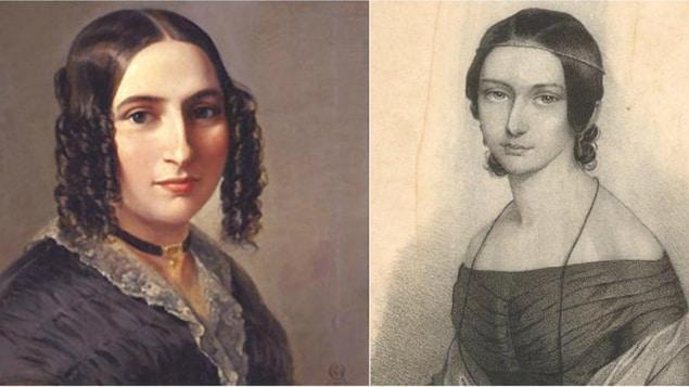Fanny Mendelssohn et Clara Schumann, femmes compositrices,